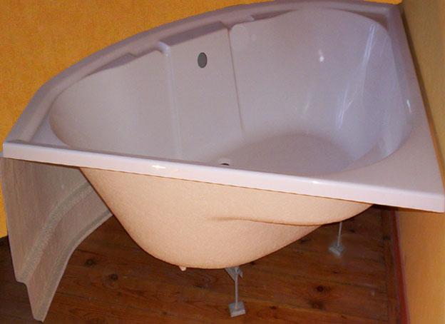 Tablier de baignoire d 39 angle trouvez le meilleur prix sur voir avant d - Comment fixer un pare baignoire ...